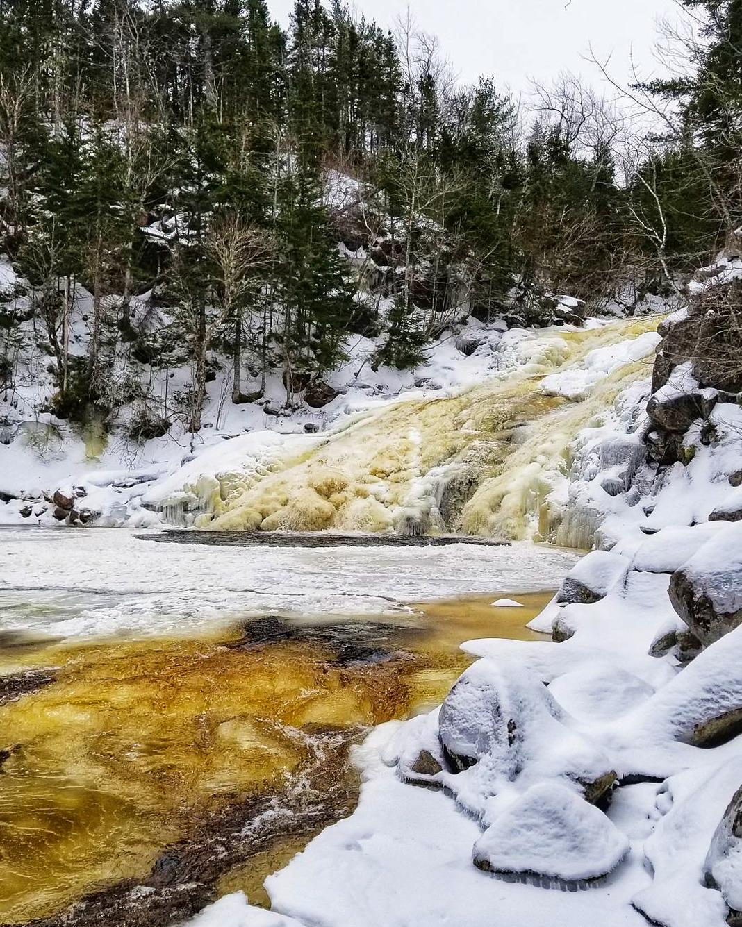 10 Cape Breton Waterfalls to visit this Winter 3
