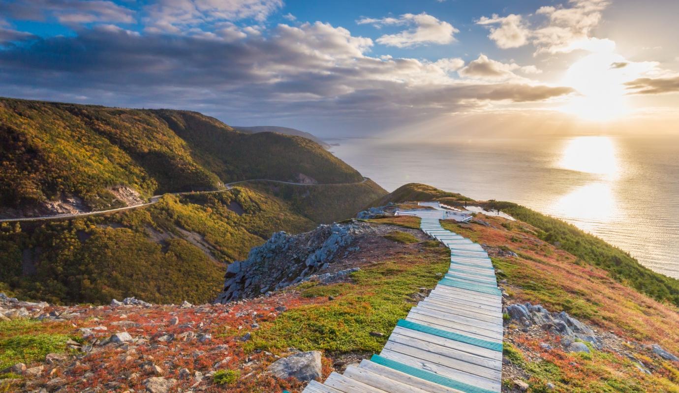Landscape Cabot Trail