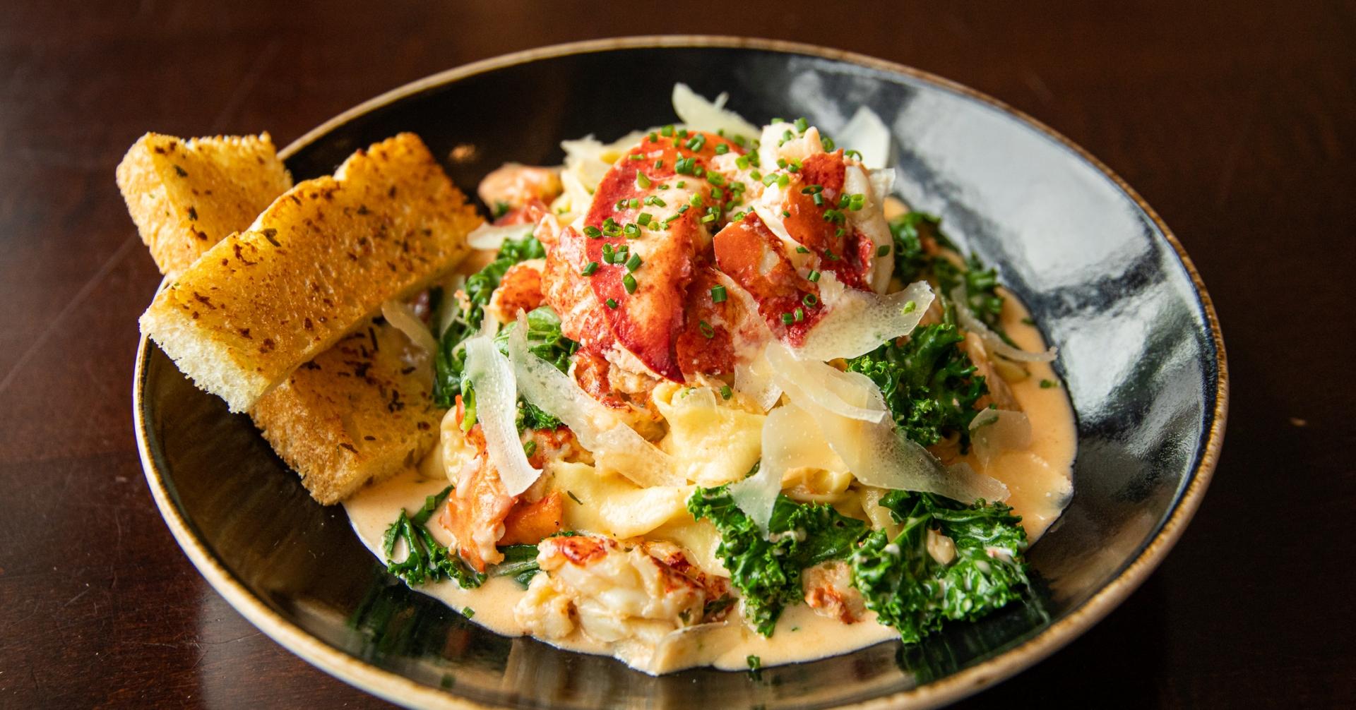 Founders Restaurant Lobster Dish