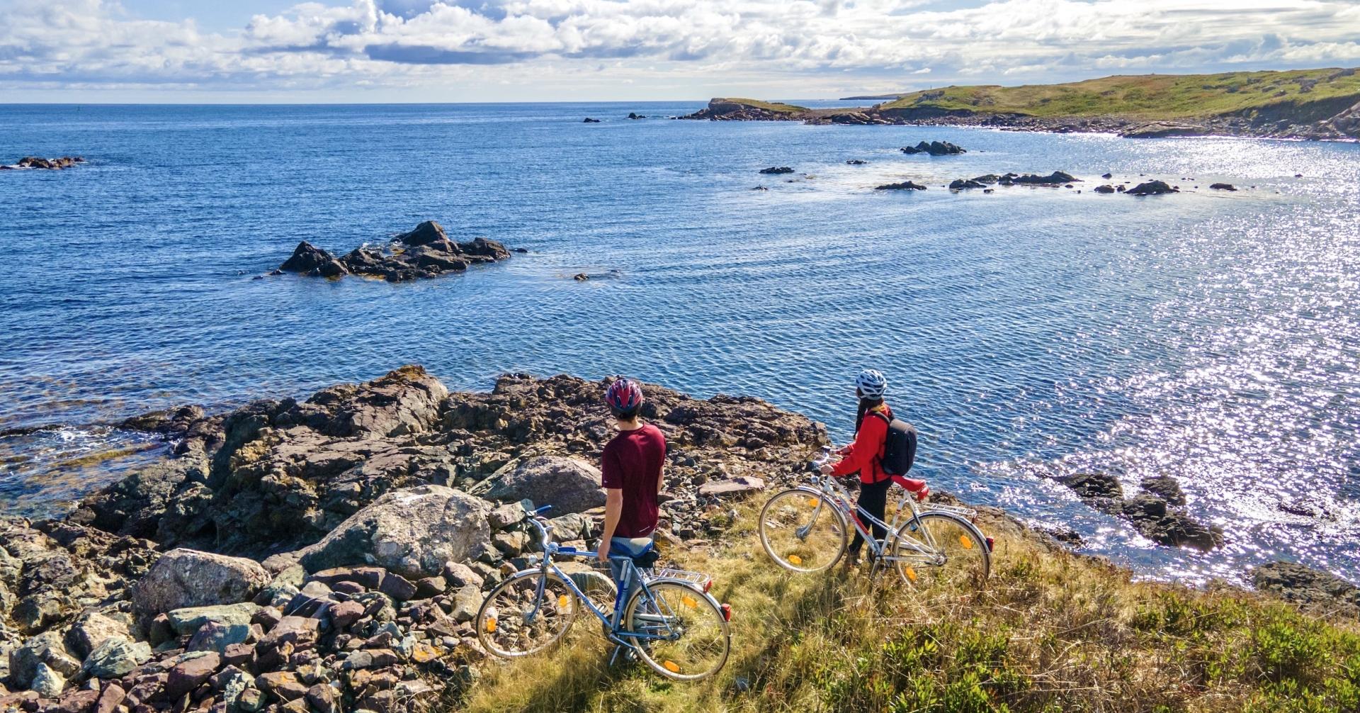 Biking Through Isle Madame - A Fall Gem 8