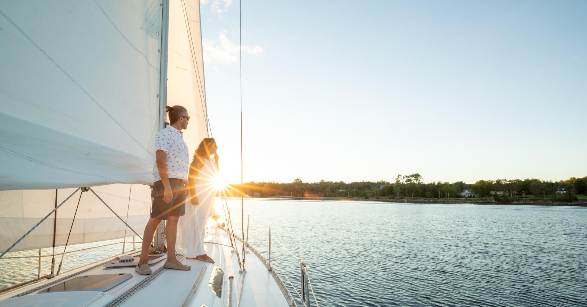 Sunset Sail - Sail Cape Breton