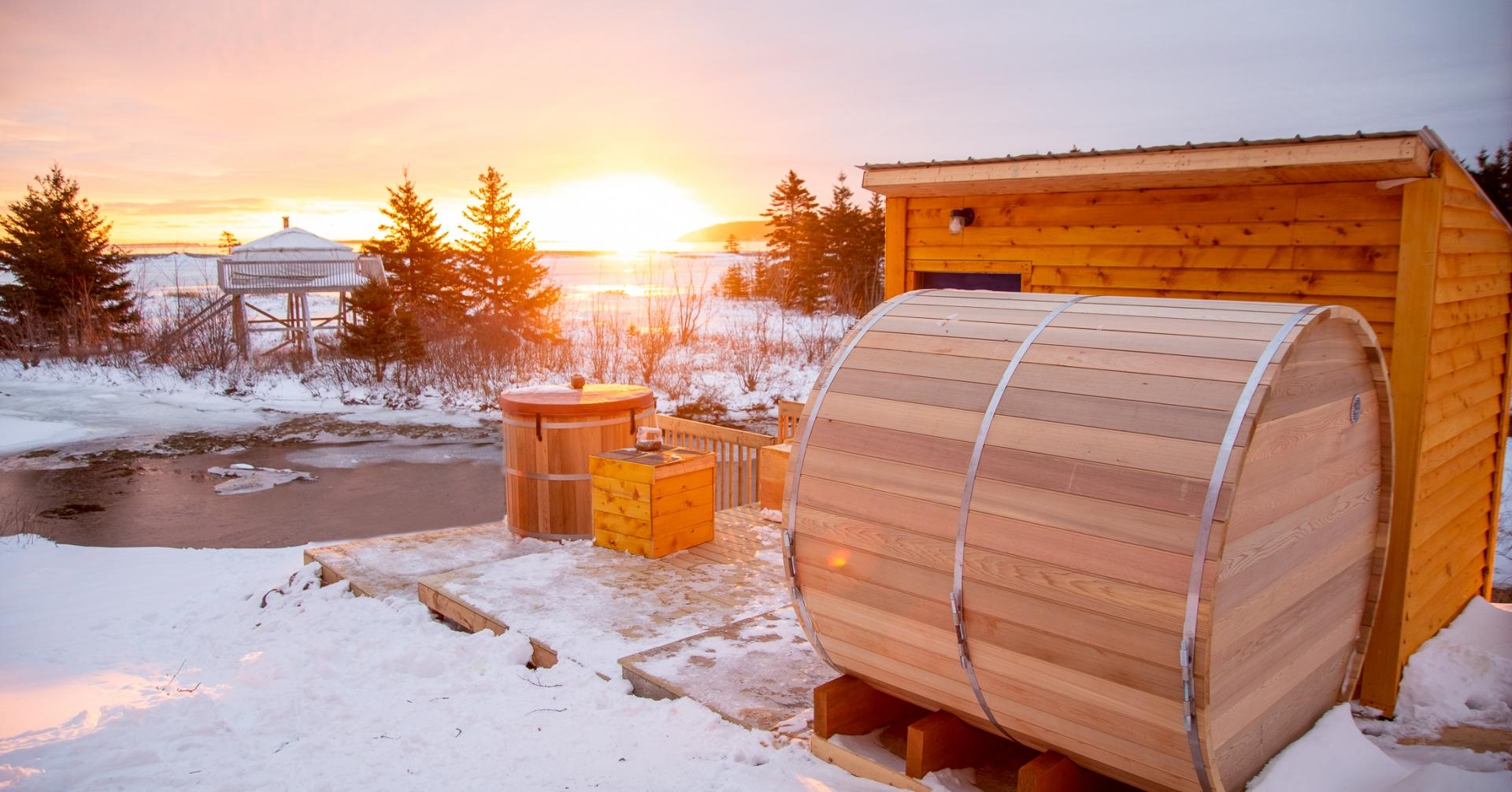 Warm Up To Winter: Sauna Edition 3